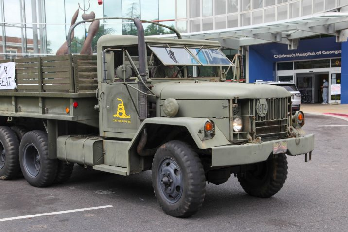 large military truck
