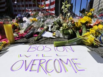 Boston bombing memorial