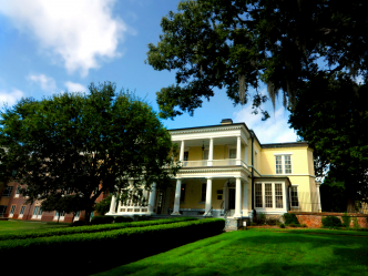 image of Benet House on the Summerville Campus in the summer