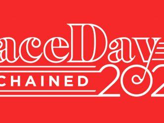 White PaceDay logo on read
