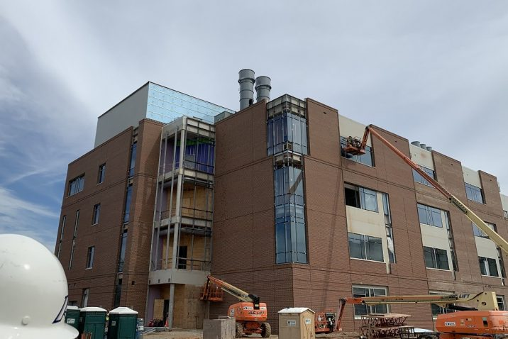 College of Science and Mathematics construction