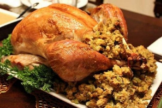 turkey with dressing