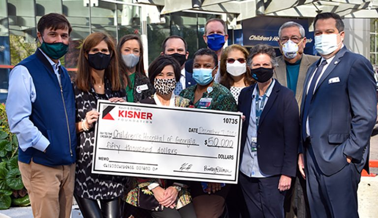photo from article The Kisner Foundation donates $50K to pediatric behavioral health and wellness program