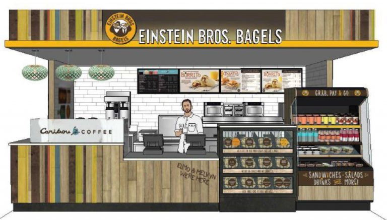 Bagel eatery drawing