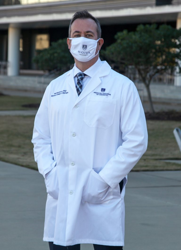 man in medical coat