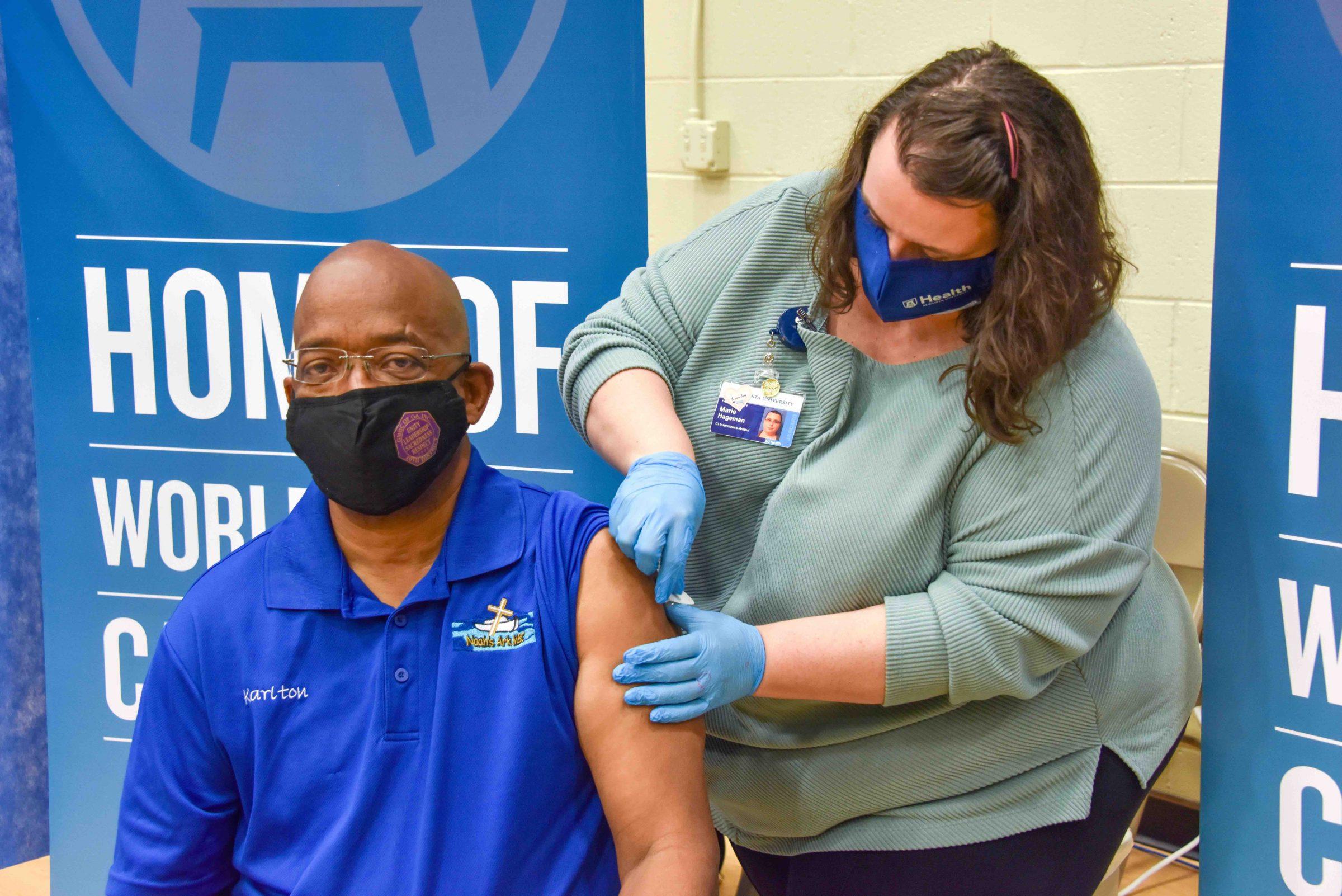 In Photos: Augusta University health vaccinates local church leaders