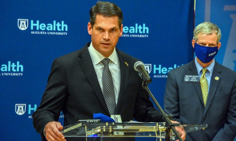 Lt. Gov. Duncan calls Augusta University Health vaccine sites a model for Georgia