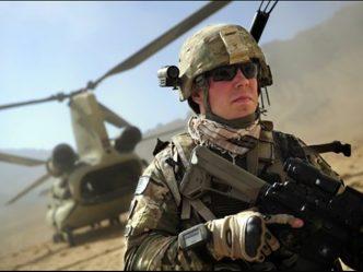 Man in Army gear