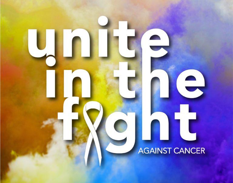 unite in the fight graphic