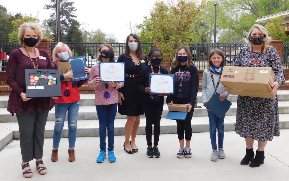 winning team of students