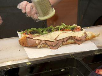 sub sandwich prep
