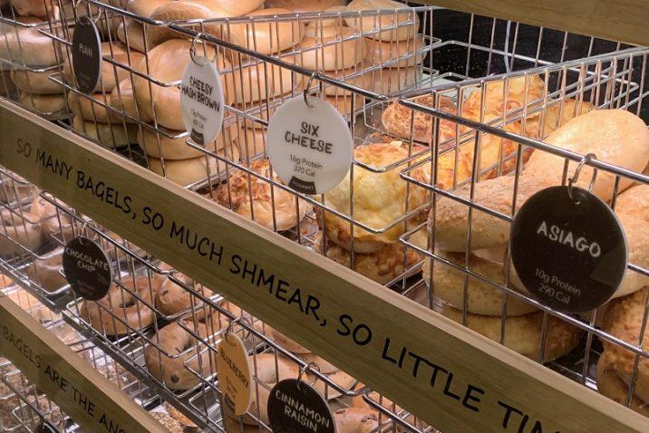baskets of bagels