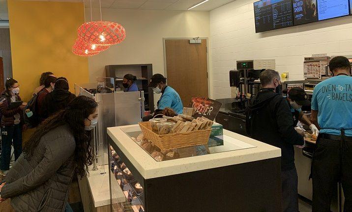 customers at counter