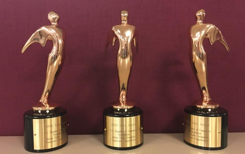 Three communication students win Telly Awards for PSAs