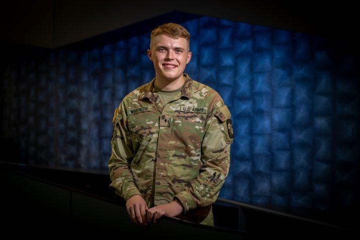 ROTC member in uniform