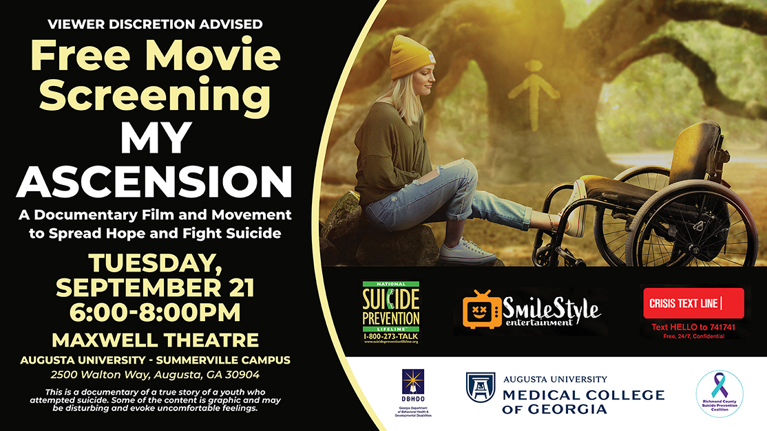 poster for the 'My Ascension' movie screening