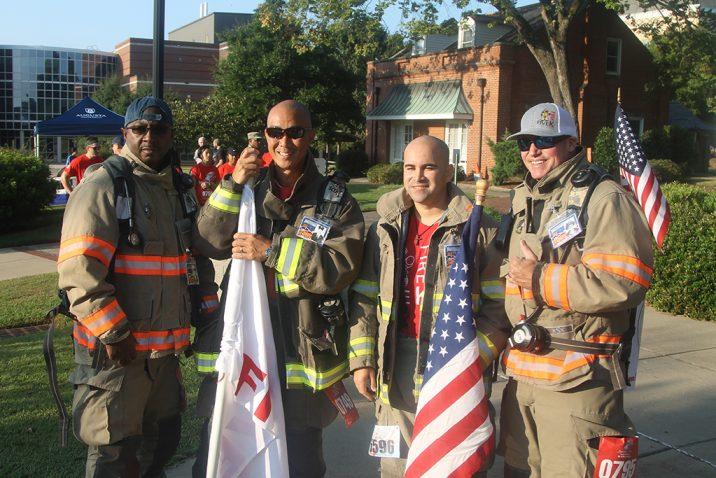 Men in firefighter gear