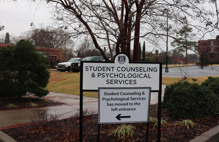 sign for Student Counseling and Psychological Services